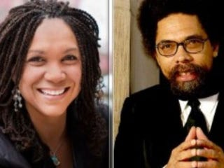 Melissa Harris-Perry and Cornel West (News One)