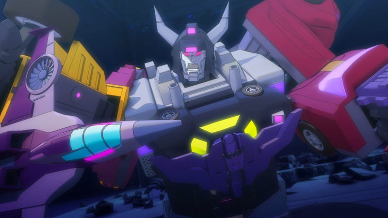 Machinima's Transformers Animated Series Is Looking Hot