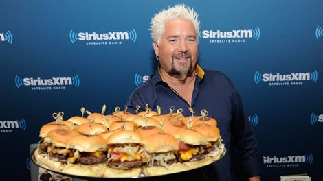 We regret to inform you that guy fieri 39 s times square for Fish pedicure boston