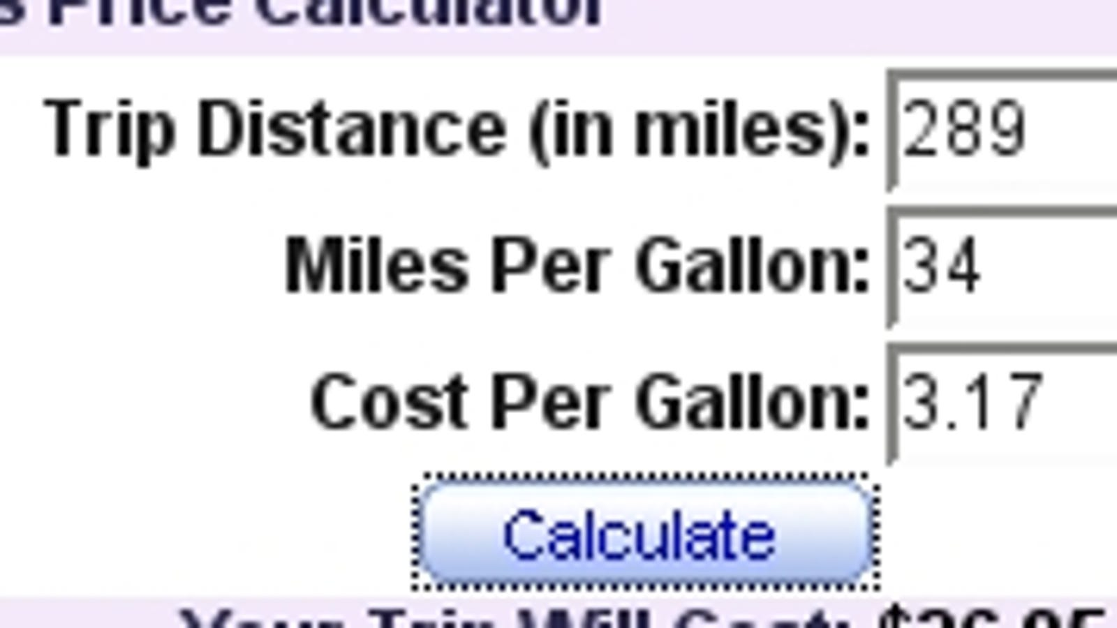 Gas Calculator Mapquest New Upcoming Car Reviews