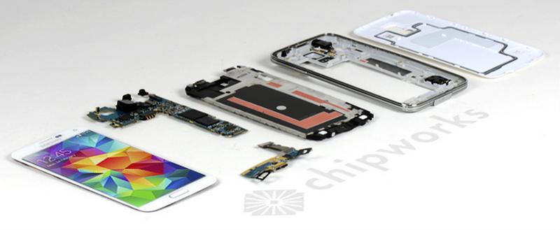 Illustration for article titled Así es el Samsung Galaxy S5 por dentro, pieza a pieza