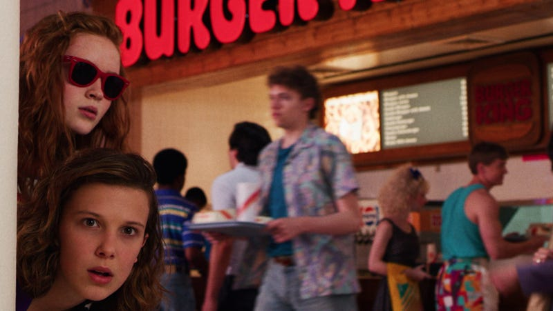 Illustration for article titled Read this: Let's take a closer look at all the stores in Stranger Things' Starcourt Mall