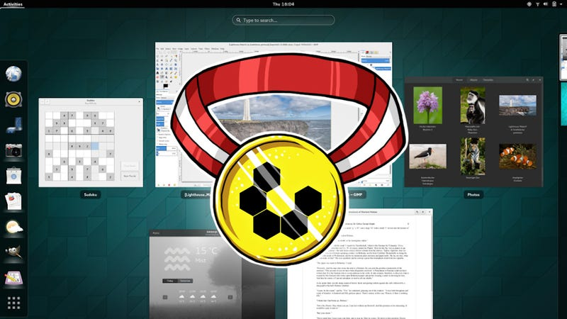 Illustration for article titled Most Popular Linux Desktop Environment: GNOME Shell