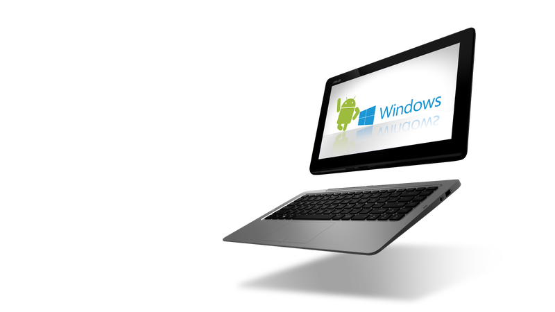 Illustration for article titled Comienzo del fin para portátiles y tabletas duales Android-Windows