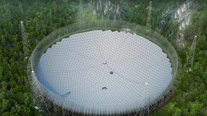 Image result for The World's Newest Massive Radio Telescope Has Made Its First Discovery
