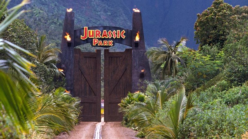 Illustration for article titled Jurassic Park 4 is going back to the original island, where all the good dinosaur stuff is