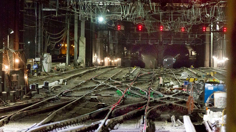The Hudson Tunnel at NY's Penn Station, which would benefit from the project