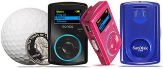 Illustration for article titled Sansa Clip MP3 Player, Clippy Little Tyke