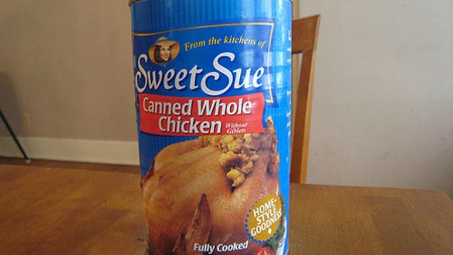Oh God, Its A Whole Chicken In A Can-5571