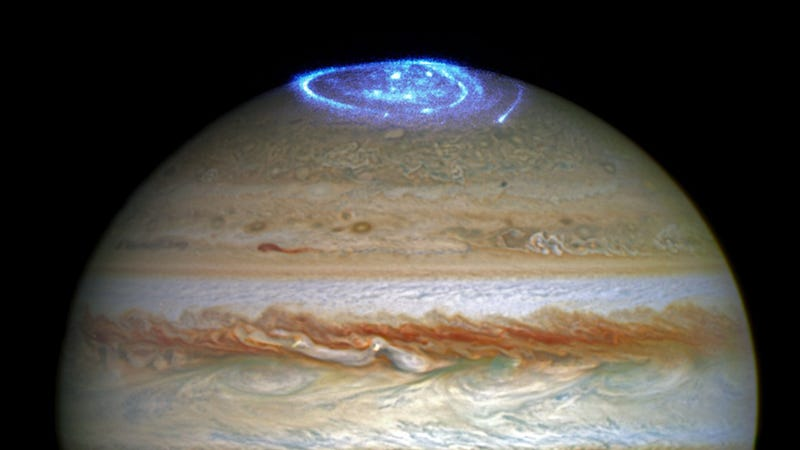 Jupiter's Northern Lights Look Absolutely Incredible