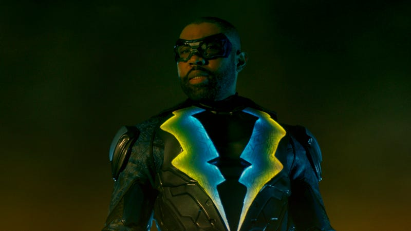 """Illustration for article titled Black Lightning will reportedly show up for the Arrowverse's """"Crisis On Infinite Earths"""""""