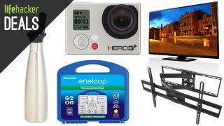 Illustration for article titled Recharge Your Batteries, Make Your Own Soda, Fly a Quadcopter [Deals]