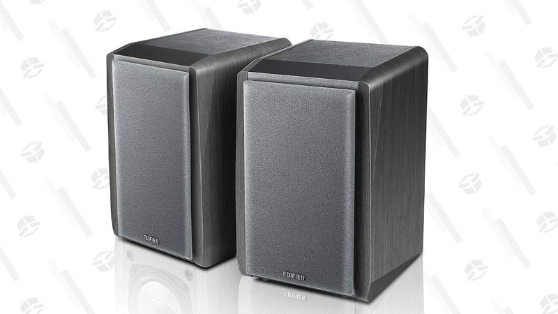 Edifier Bluetooth Bookshelf Speakers | $48 | Amazon | Clip the coupon on page