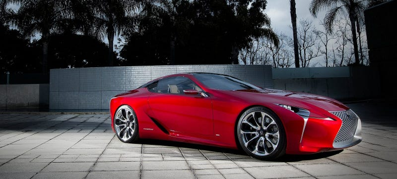 We Never Thought Toyota Would Be Bold Enough To Put The Lexus LF LC Concept  Into Production, But Now It Seems That They Will With Juicy Twin Turbo V8  Power.