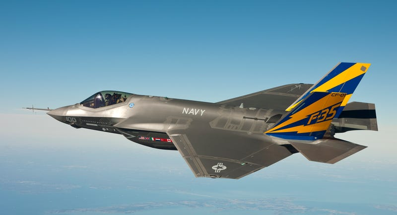 Illustration for article titled That Mysterious Sonic Boom Was From A U.S. Navy F-35C Out Of Maryland (Updated)