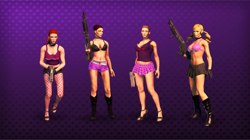 Illustration for article titled Not All Saints Row Developers Were Thrilled with the Porn Stars