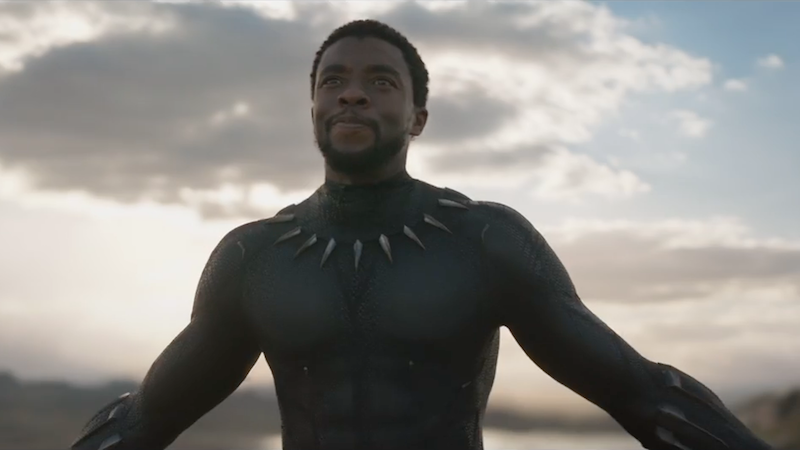 All stills and gifs from the Black Panther teaser trailer, Marvel (via Youtube)