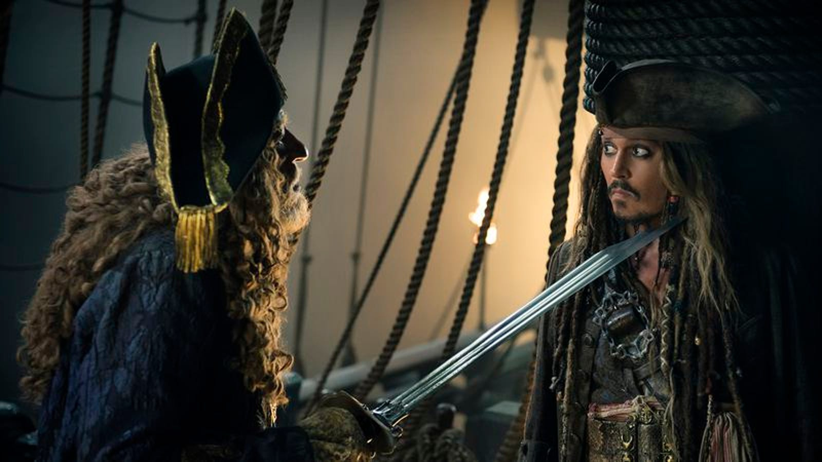 Pirates Of The Caribbean slogs out to sea for the fifth time in Dead