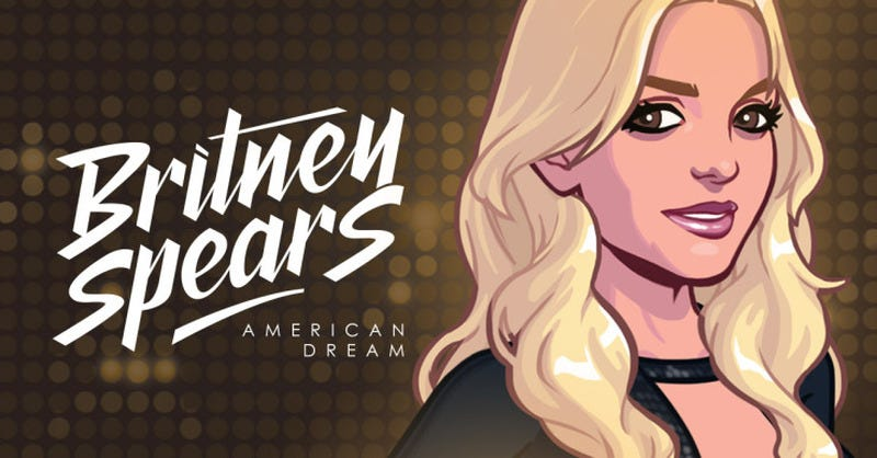 Illustration for article titled The Britney Spears iPhone Game Is Weirdly Depressing