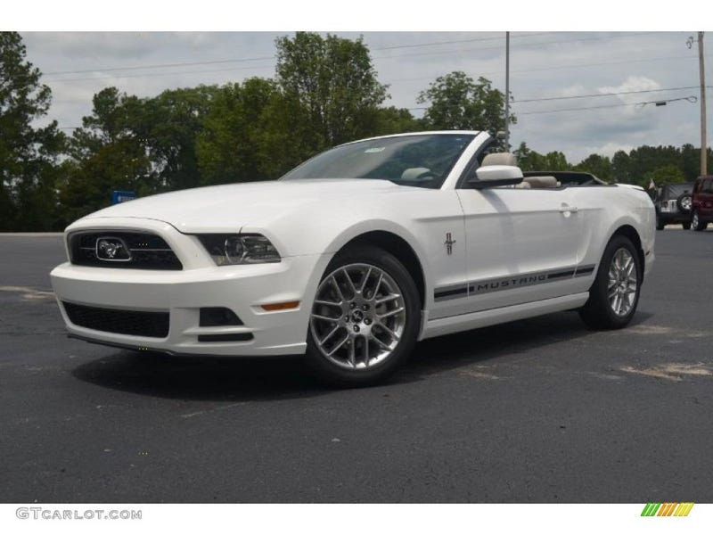 flying across the desert in a rented v6 mustang an american aventure - Ford Mustang 2013 White