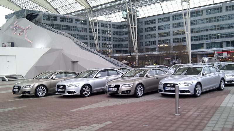 Illustration for article titled Audi welcomes you to the Free State of Bavaria