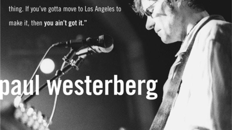 Illustration for article titled Paul Westerberg