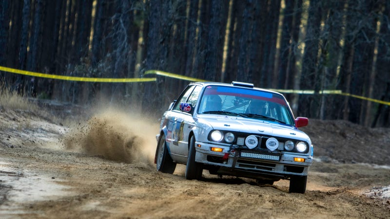Illustration for article titled Rally Photos of the Day: Oversize edition