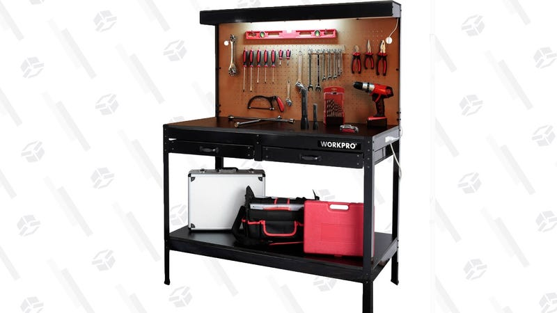 Workpro Work Bench with LED Light | $70 | Walmart | $67 with in-store pickup discount