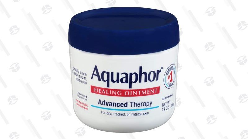 Aquaphor Healing Ointment 14 Ounce | $10 | Amazon | Clip 25% off coupon