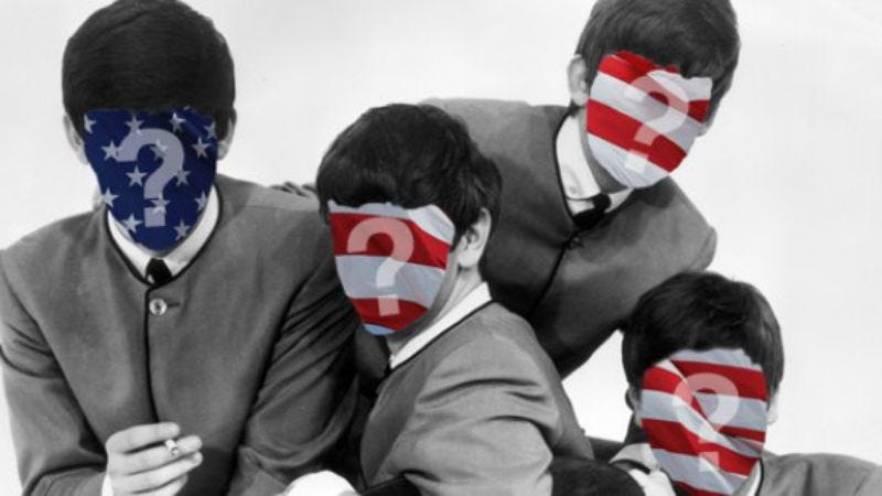 Illustration for article titled New York teenagers have no idea who The Beatles are