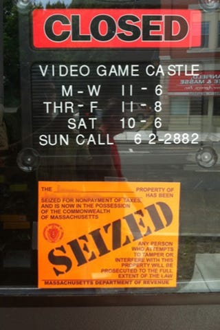 The folks at Video Game Castle assure you they are still open, by the way.