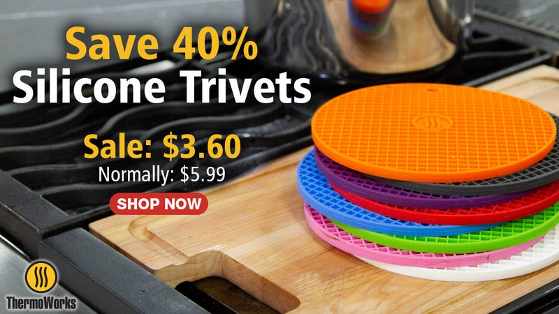Silicone Trivets | $4 | ThermoWorks