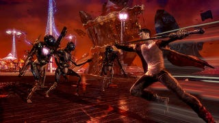 Illustration for article titled Latest DmC: Devil May Cry Screens Have Fans Seeing Red