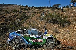 Illustration for article titled WRC Most Spectacular Crashes
