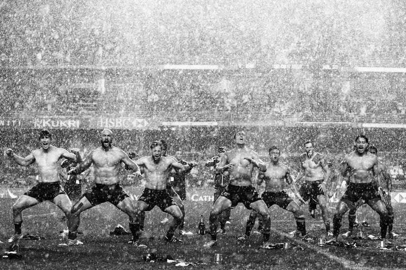 Illustration for article titled New Zealand Rugby Celebrations Are Beastly