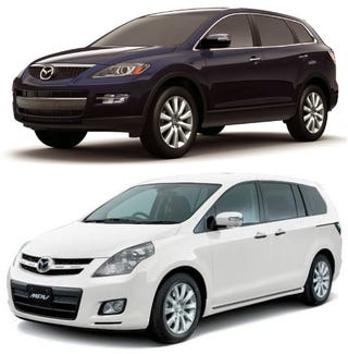 Illustration for article titled Question of the Day: Japanese MPV or CX-9?
