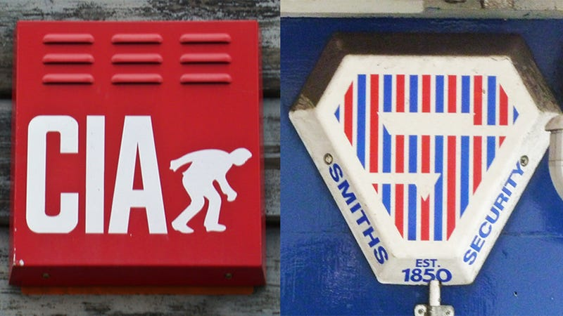 Illustration for article titled Britain's Colorful Burglar Alarms Are Oddly Mesmerizing