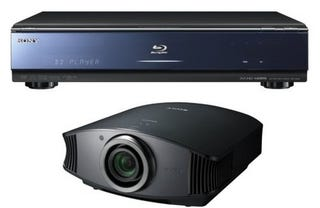 Illustration for article titled Sony BDP-S500 Blu-ray Player and VPL-VW60 Projector Come Stateside