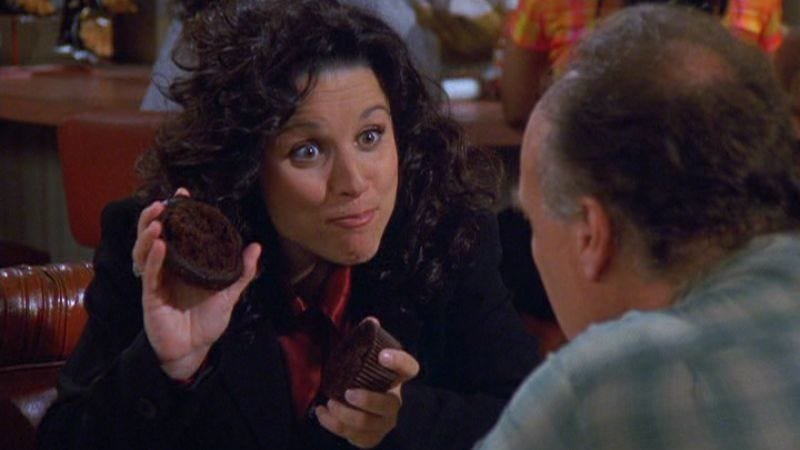 """Illustration for article titled Seinfeld: """"The Muffin Tops""""/""""The Summer Of George"""""""