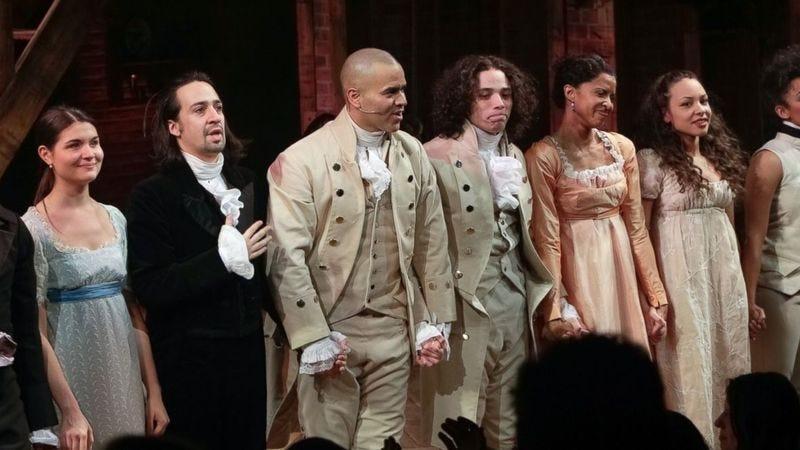 Hamilton The Musical (Photo credit: Brent N. Clarke)