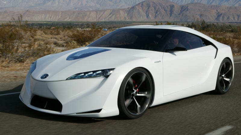 Ilration For Article Led The Toyota Ft Hs Is Hybrid Supra That Sort Of