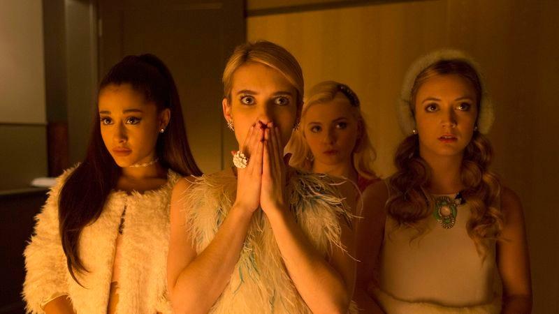 Ariana Grande, Emma Roberts, Abigail Breslin, Billie Lourd