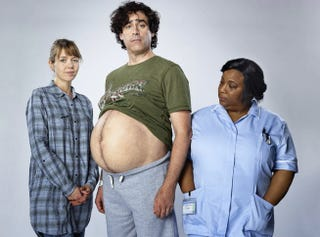 Illustration for article titled Stephen Mangan Will Play A Pregnant Man For TV Series Birthday