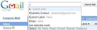 Illustration for article titled Gmail Adds Search Autocomplete, Navigation Shortcuts, Attachment Detector, and More