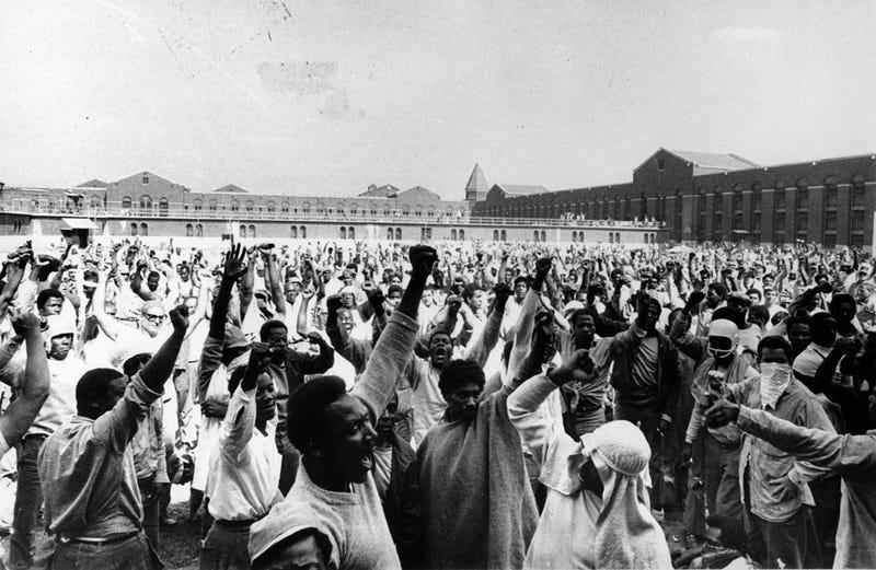 Attica prison uprising in 1971Twitter