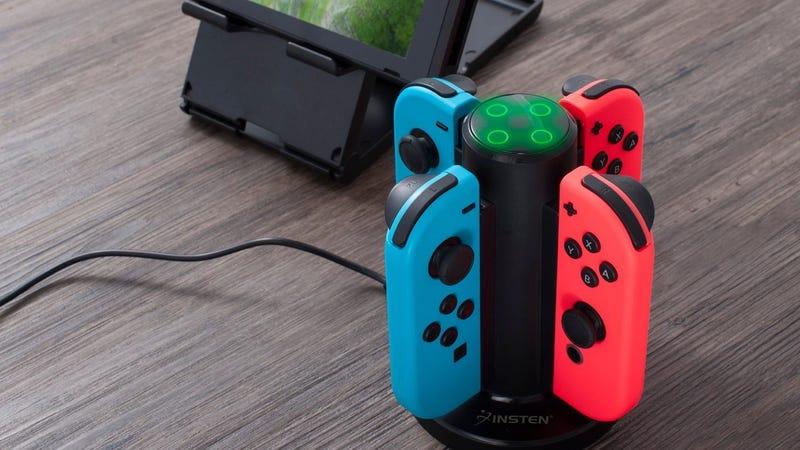 Nintendo Switch Joy-Con Charging Tower | $12 | Amazon