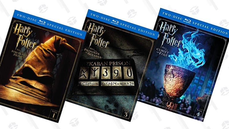 Harry Potter and the Goblet of Fire (2-Disc Special Edition) [Blu-ray] | $10 | AmazonHarry Potter and the Prisoner of Azkaban (2-Disc Special Edition) [Blu-ray] | $10 | AmazonHarry Potter and the Chamber of Secrets (2-Disc Special Edition) [Blu-ray] | $10 | AmazonHarry Potter and the Sorcerer's Stone (2-Disc Special Edition) [Blu-ray] | $10 | Amazon