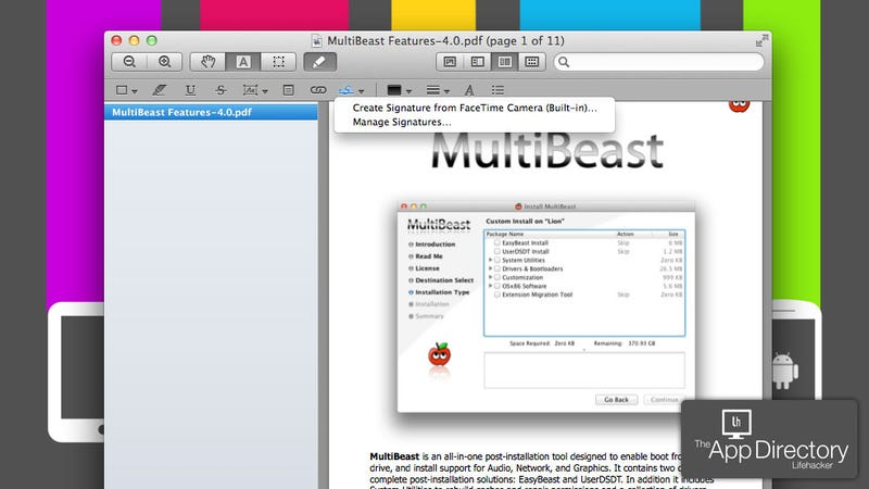 Illustration for article titled The Best PDF Viewer/Editor for Mac