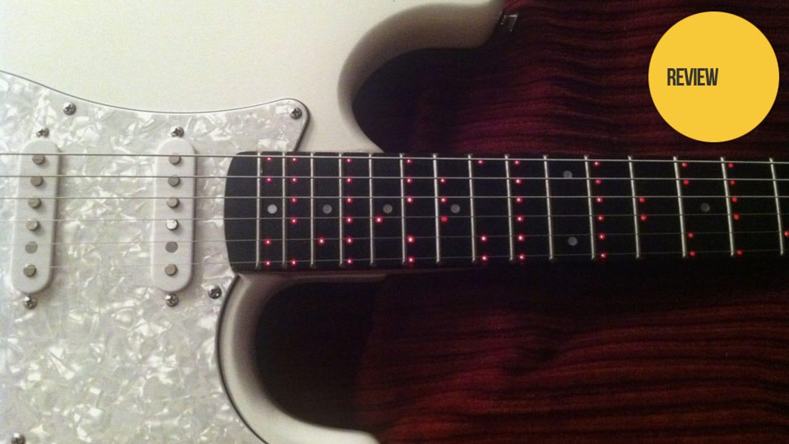 the fretlight guitar sets a shining example for hopeful guitar heroes. Black Bedroom Furniture Sets. Home Design Ideas