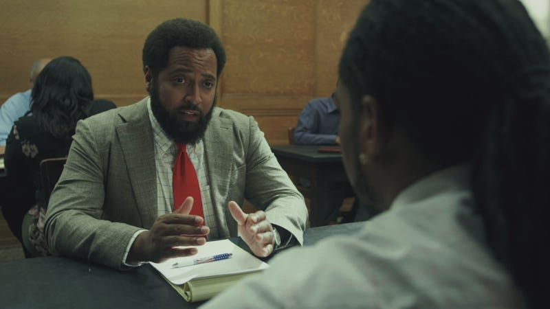 Diallo Riddle as Allen Gayle in South Side.